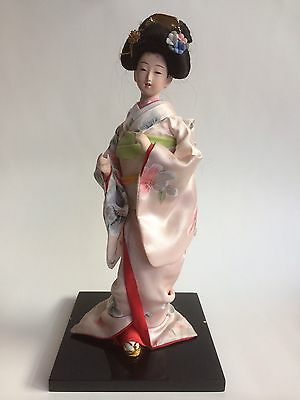 Vintage Japanese Chinese Doll Silk Clothing