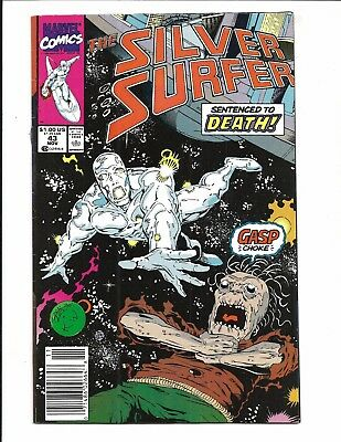 SILVER SURFER Vol.3 # 43 (NOV 1990), VF