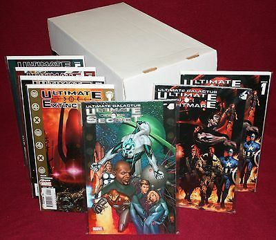 MARVEL Ultimate Galactus Trilogy Trades, Comic + Vision #1-5 (12 Issues) NM 9.6+