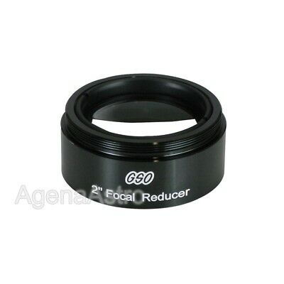 "GSO 2"" 0.5x Focal Reducer for Telescope  # GSRD2"