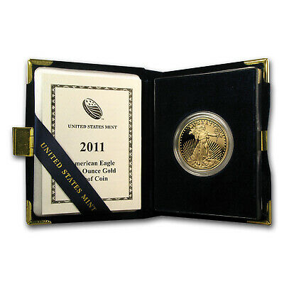 2011-W 1 oz Proof Gold American Eagle (w/Box & COA) - SKU #62461