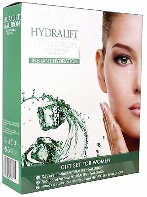 Revuele Hydralift Hyaluron Anti-Wrinkle Energizing Face Cream Treatment Gift Set