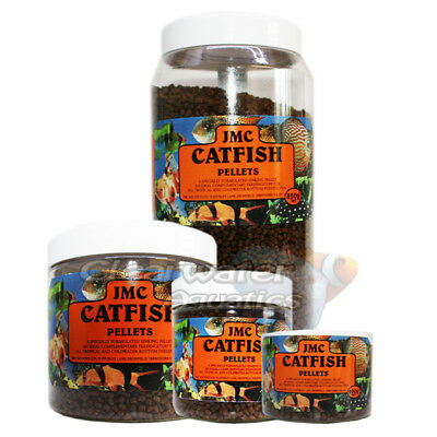 JMC CATFISH FOOD SINKING PELLETS 100g 200g 400g 850g  TROPICAL FISH COLDWATER