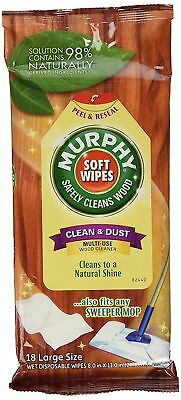 Murphy Oil Soap Wood Cleaning Soft Wet Wipes 18 Pack CPC25902CT