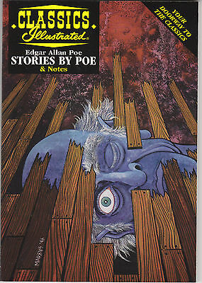 CLASSICS ILLUSTRATED - STORIES BY POE - Acclaim Books Comic Book & Study Guide