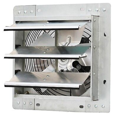 """iLIVING ILG8SF10V Wall-Mounted Variable Speed Shutter Exhaust Fan 10"""" 10"""""""