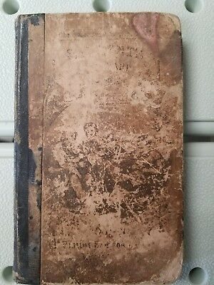 1856 Standard Third Reader by Epes Sargent Antique Pre Civil War Extremely Rare