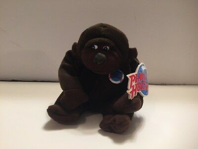 """Planet Hollywood George Baby Gorilla 4.5"""" Plush Bean Bag With Tags 1997"""