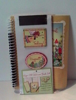 New Address Book Wipe Off with Marker Magnets Magnetic Note Pad New Seasons