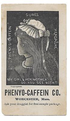 Puzzle Card - Phenyo-Caffein Co. My Girl & Her Mother - Do You See Both