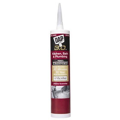Dap 00790 Kwik Seal Caulk 9-Ounce White
