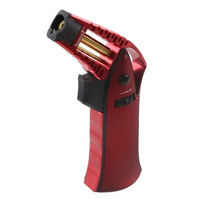 SCORCH TORCH LIGHTER X-Series Blast Torch Butane GAS REFILLABLE Metallic Red