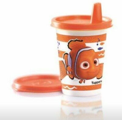 ❤️NEW RARE Tupperware Kids Fun NEMO Bell Tumbler with Sippy Seal & Seal Wow ❤️