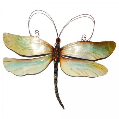 Metal Dragonfly Wall Decor Handmade Home Decoration Crafted Art Sculpture  New
