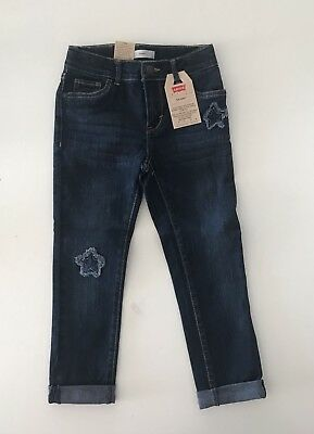 100% Authentic Girls Levi's Skinny Jeans Size 6