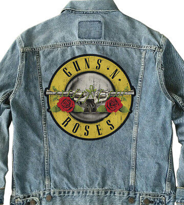 Guns N Roses Giant Backpatch, GNR Back patch Guns N Roses Back patch