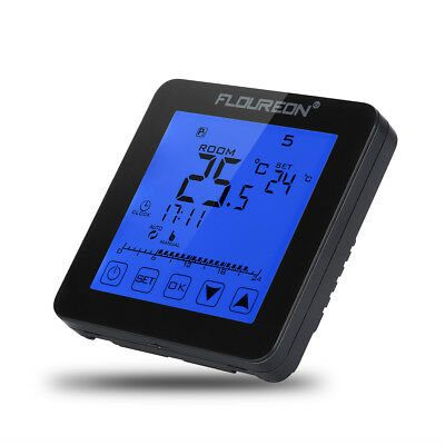 digital thermostat wandthermostat bodenf hler. Black Bedroom Furniture Sets. Home Design Ideas