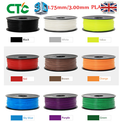 CTC 1KG/R 3D-Printer filament PLA 1.75mm/3.00mm for makerbot Huxley Leapfrog UP