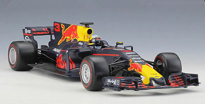 2017 Bburago 1:18 F1 Red Bull Racing RB13 #3 Daniel Ricciardo Diecast Model Car