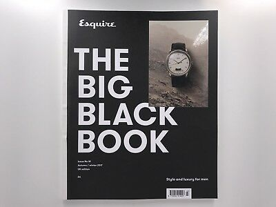 Esquire UK Edition - The Big Black Book Issue 10 2017 NEW