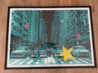 ROAMCOUCH - WHEN YOU WISH UPON A STAR - Ed. No. 45 (50) - Street Art, Urban Art