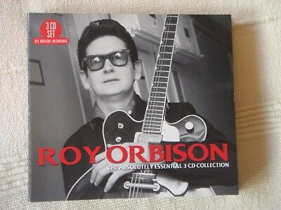 """ROY ORBISON """"The Absolutely Essential Collection"""" 3-CD box set"""