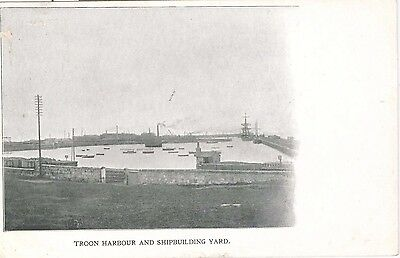Troon Harbour and Shipbuilding Yard. nr. Ayr