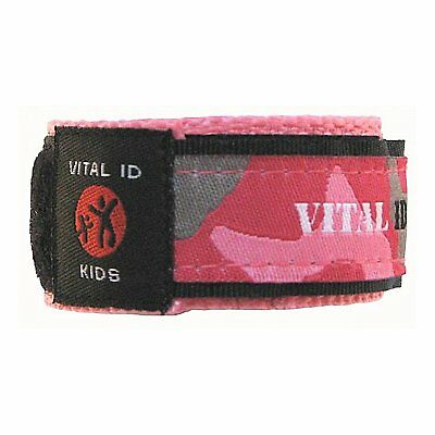 Child ID Safety Wristband. Store Your Contact Info plus Your Childs Allergy and