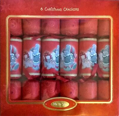 Tatty Teddy Me To You Christmas Crackers - New In Box