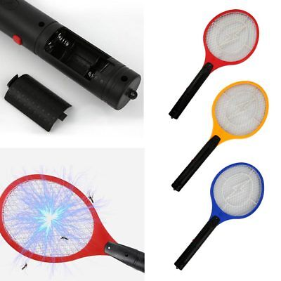 2017 Bug Zapper Elec Tennis Racket Mosquito Fly Swatter Killer Insect Handheld