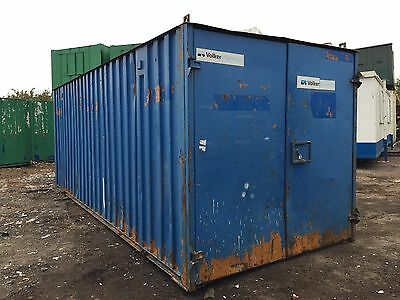 Storage Container 20ft by 8ft Anti Vandal Steel (More Available)