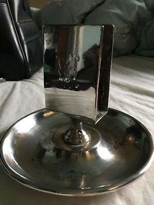 Vintage Mappin and Webb Match Stand. Prince's Plate