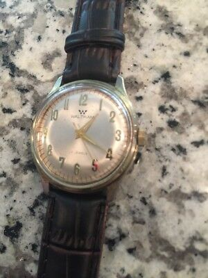 Works/Looks Great! Vintage Waltham Automatic Men's Watch! 17 Jewels!
