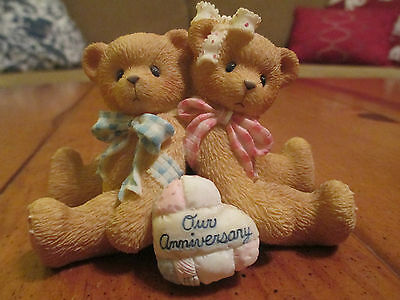 """Cherished Teddies """"You Grow More Dear with Each Passing Year"""" P. Hillman 1997"""