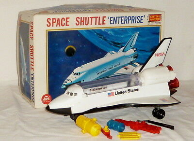 Altes ALPS Raumschiff Space Shuttle Enterprice Toy Rakete Japan spacetoy Weltall