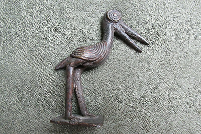 African Goldweight in the form of a Bird   --   Ghana / Tribal