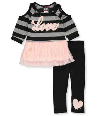 RMLA Little Girls' 2-Piece Outfit (Sizes 4 - 6X)