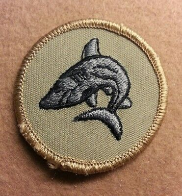 Bsa  Patrol Medallion Patch - Shark - 1989-2002  - Pre-Owned   B00035