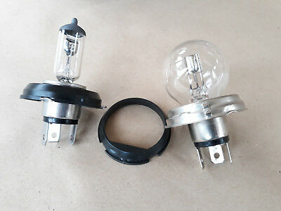 Headlight H4 Bulb Adapters Vintage Classic Car Motocycle H5 To H4 P45T P43T R2
