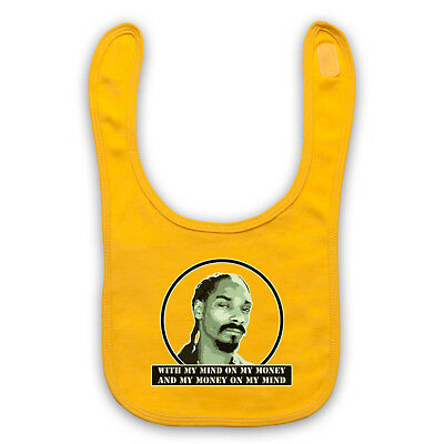 Gin And Juice Snoop Unofficial Doggy Dog Rap Hip Hop Baby Bib Cute Baby Gift