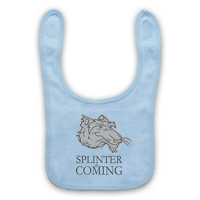 Splinter Is Coming Unofficial Game Of Thrones Parody Baby Bib Cute Baby Gift