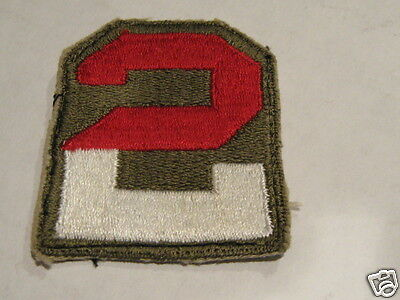 WW2 US 2nd Army   Shoulder Patch  Second Army