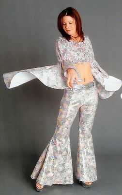 Women's 70's Disco Halloween Costumes - 4 Costumes Sold as 1 Lot
