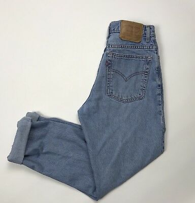 Levi's 550 Relaxed Fit Tapered Leg 11 M Mom Jeans High Rise Womens Vintage 28x30