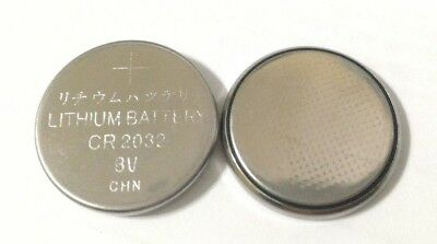 5 Pack CR2032 3v Lithium Batteries Coin Cell 220mAh Exp 2024