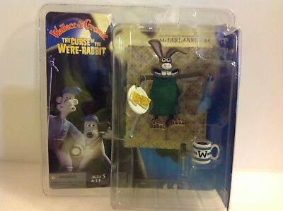 McFarlane Wallace & Gromit The Curse of the Were-Rabbit Hutch Figure 2005. New!
