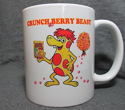 Cap'n Crunch - Crunch Berry Beast Coffee Cup, Mug - 70's Classic Cereal - New