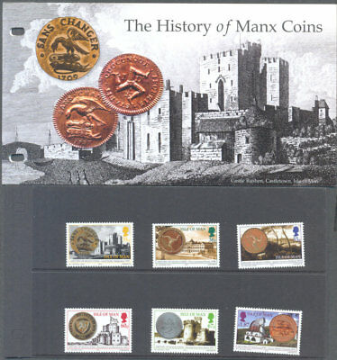 Isle of Man -Manx Coins History set & Presentation Pack mnh