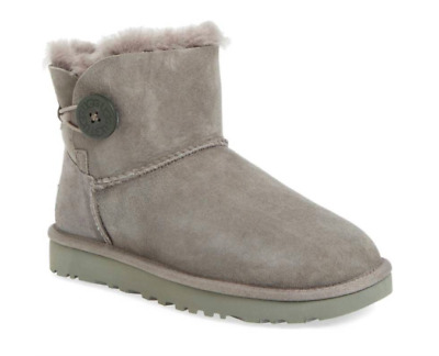 UGG Women's Mini Bailey Button II Boots - GREY