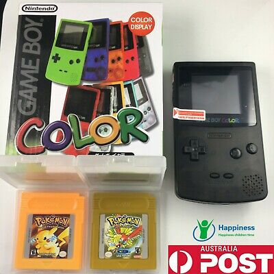 Nintendo GameBoy Color and GameBoy Advance Flame with ALL Pokemon GAME